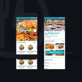 Prototipo para una app de reserva de restaurantes