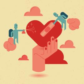 Ilustración Día de San Valentín