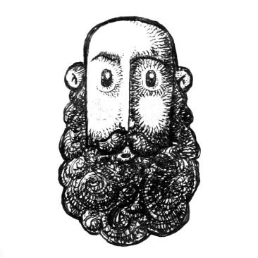 Ilustración autorretrato