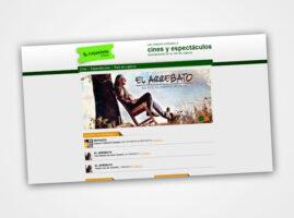 Diseño web para Cajasiete Tickets