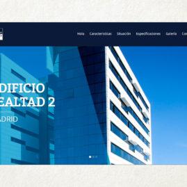 Diseño Web responsive para inmobiliaria