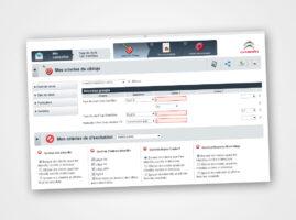 Diseño y maquetación aplicación de mailing