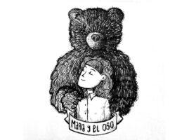 Ilustración María y el oso