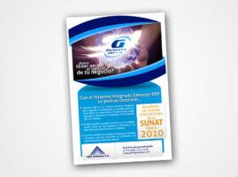 Newsletter para Genesys ERP