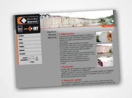 Diseño Web para Mundo Marmol