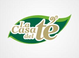 Logotipo para La Casa del Té