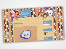 Diseño web para María Delgado