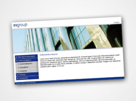 Diseño Web para SVGroup