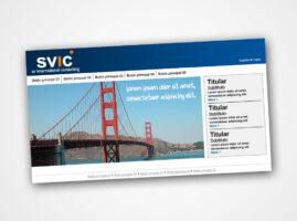 Diseño Web para SVIC
