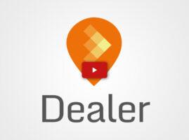 Animación del logotipo para Dealer