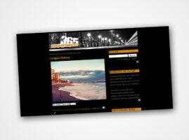 Diseño Web para 365 Diario fotográfico