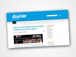Diseño Web para Azulcian